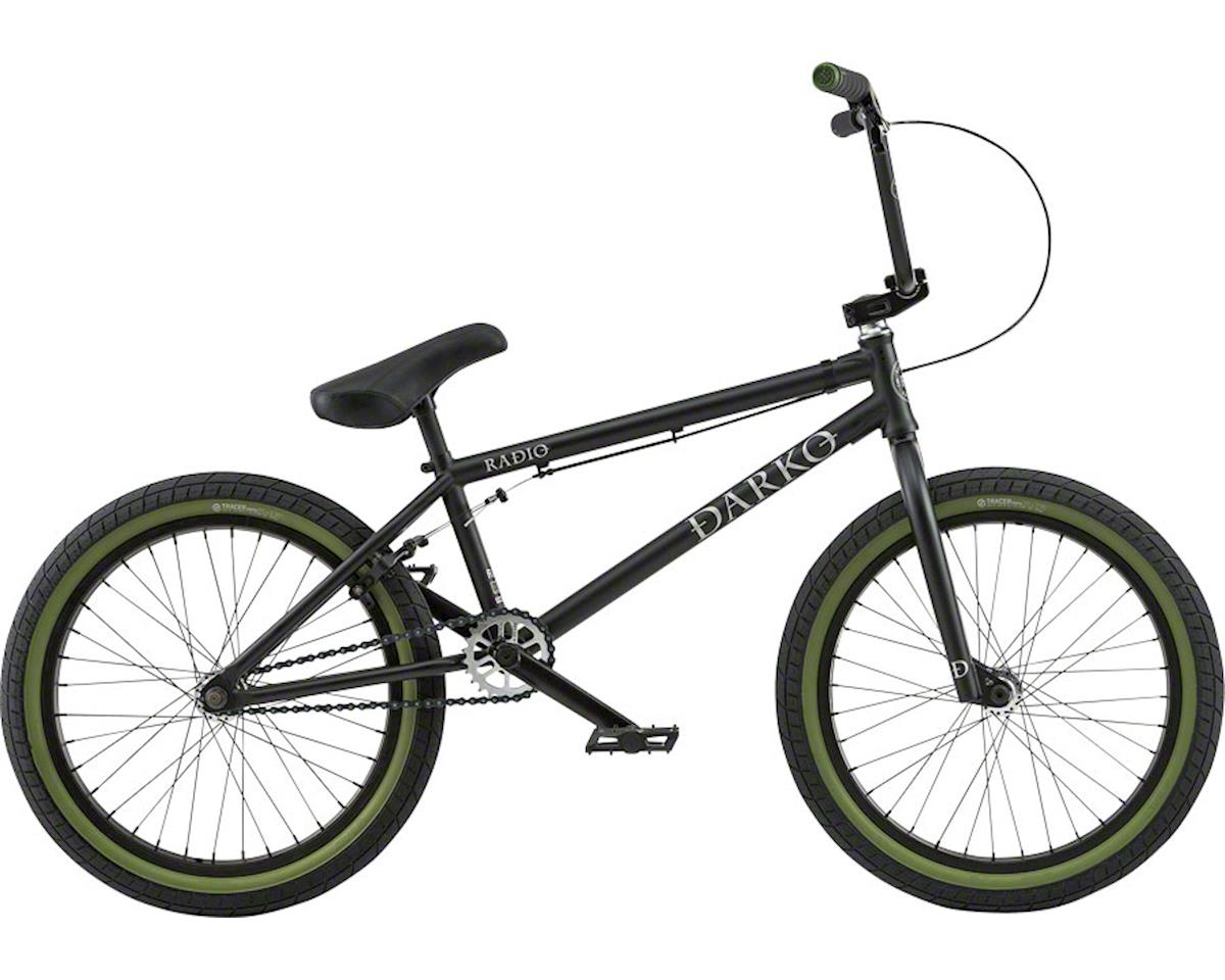 "Radio Darko 20"" 2018 Complete BMX Bike 20.5"" Top Tube Matte Black"