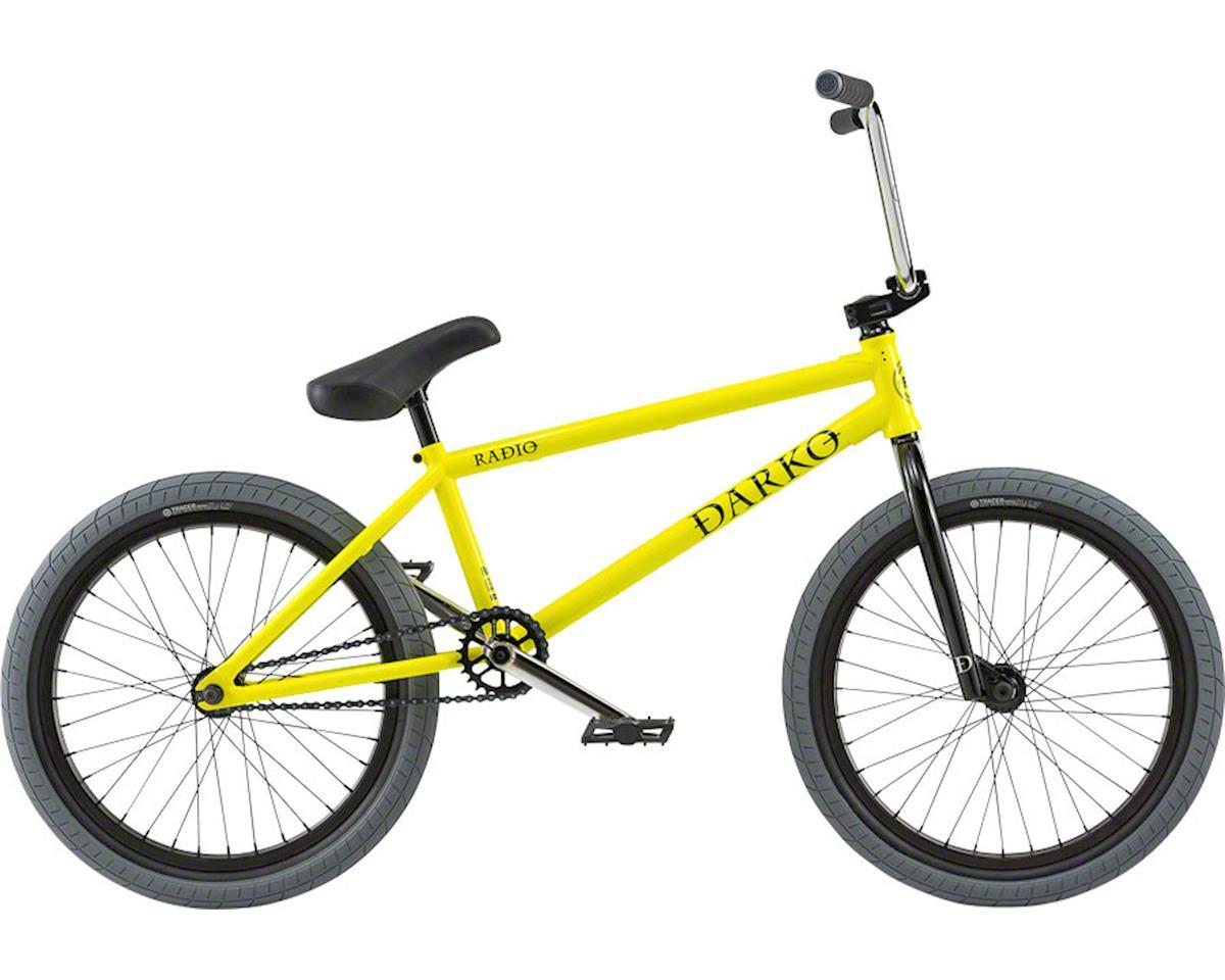 "Radio Darko 20"" 2018 Complete BMX Bike 20.5"" Top Tube Neon Yellow"