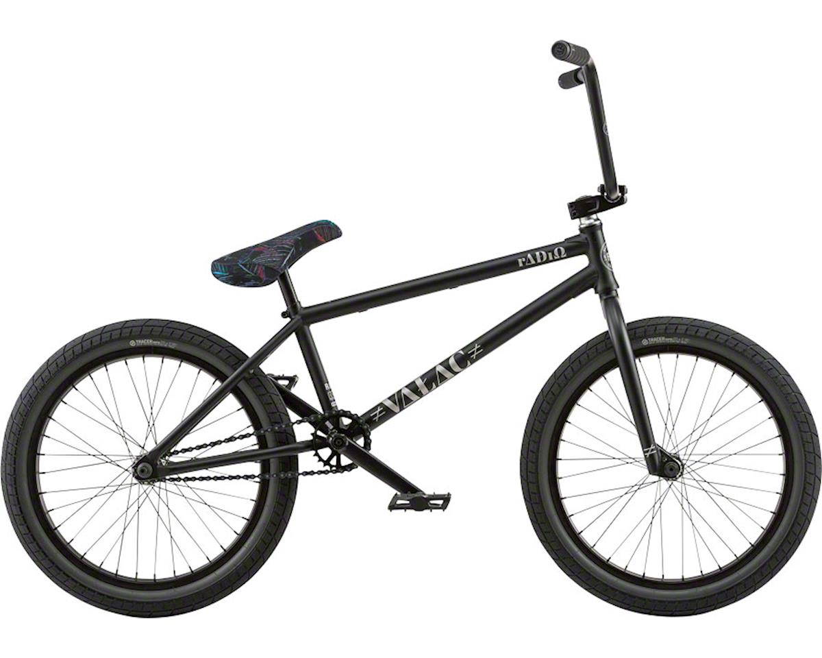"Radio Valac 20"" 2018 Complete BMX Bike 20.75"" Top Tube Matte Black"