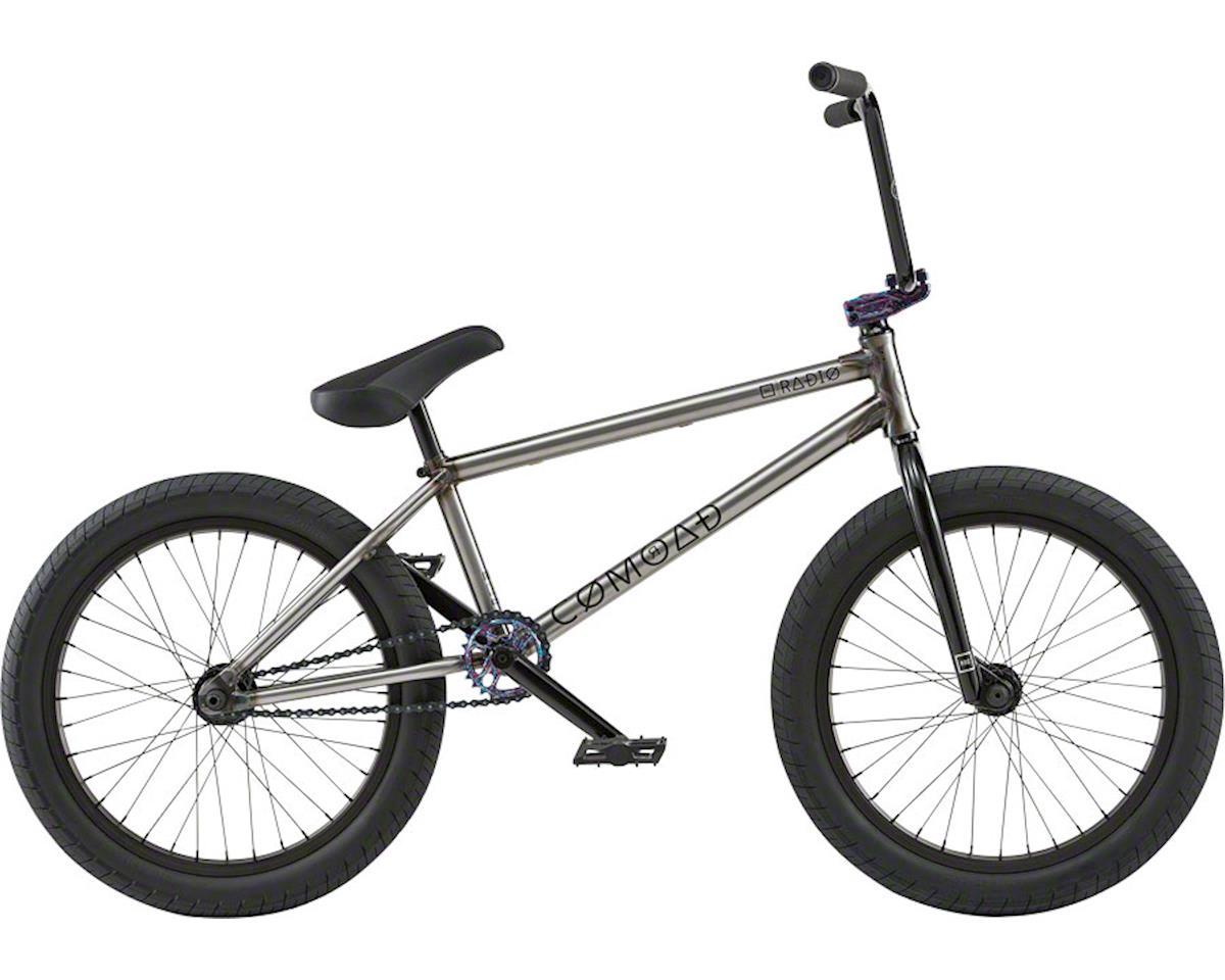 "Radio Comrad 20"" 2018 Complete BMX Bike 21"" Top Tube Glossy Raw"