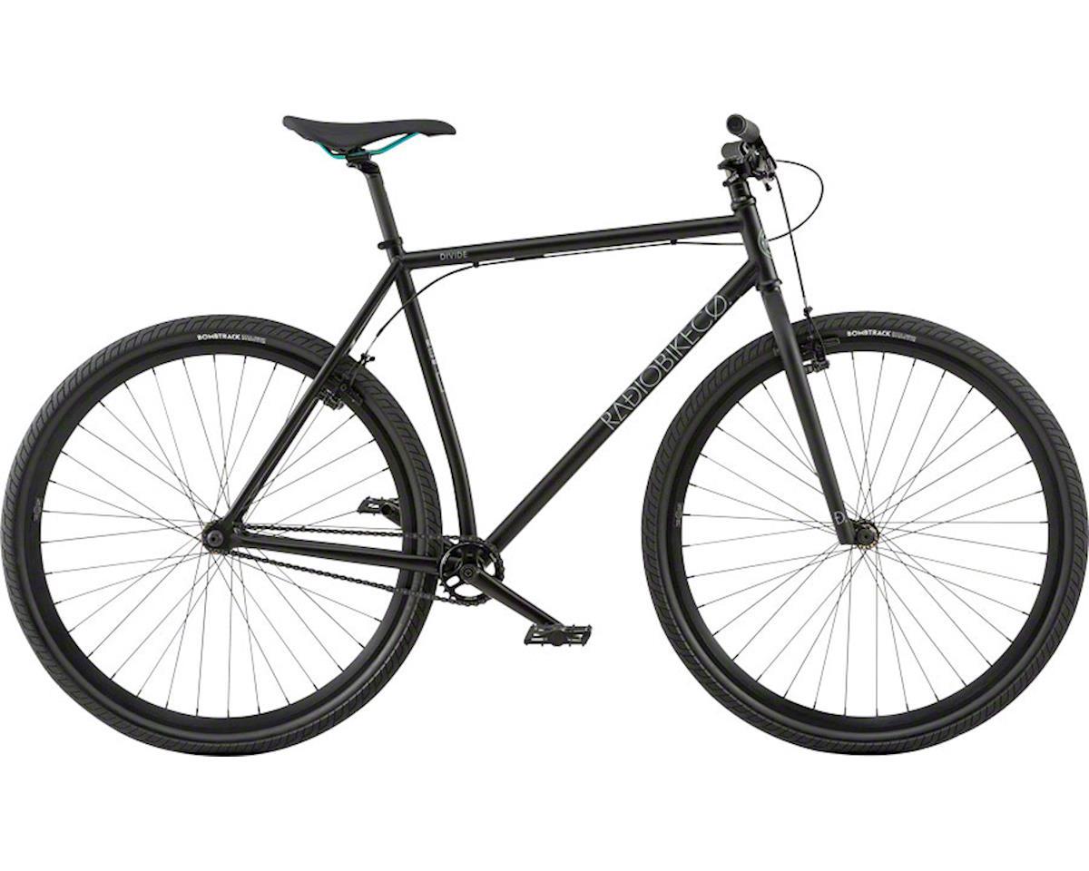Radio Divide 700c 2018 Complete Urban Bike Medium Matte Black