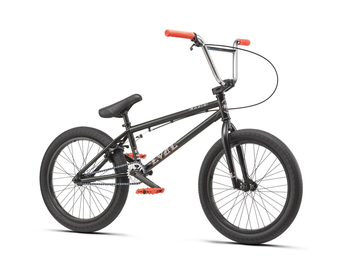 "Radio Evol 20"" 2019 Complete BMX Bike 20.3"" Top Tube Matte Black"