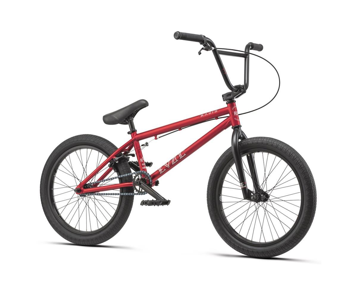 "Radio 2019 Evol 20"" Complete BMX Bike 20.3"" Top Tube Metallic Red"