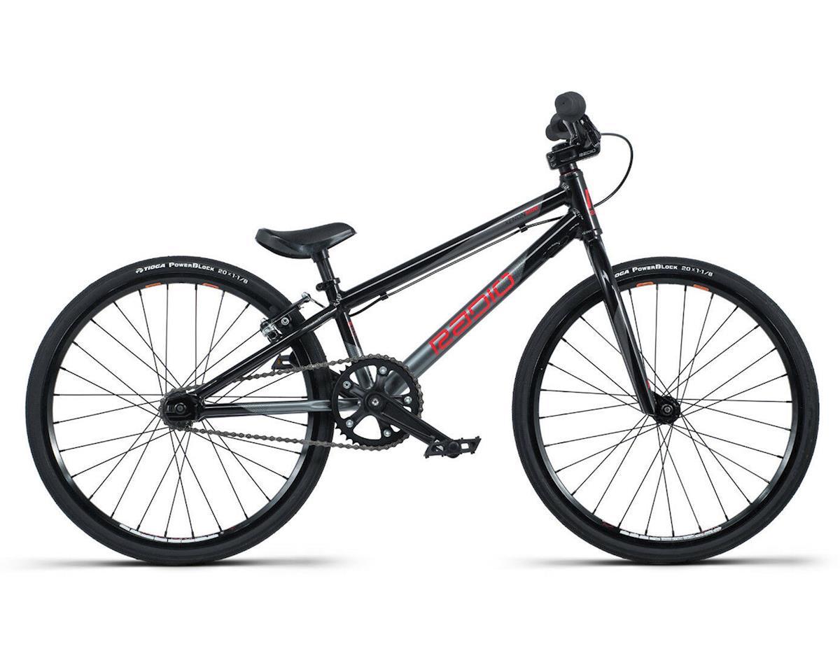 "Radio Raceline Xenon Junior BMX Race Bike (18.5"" Toptube) (Black/Silver)"