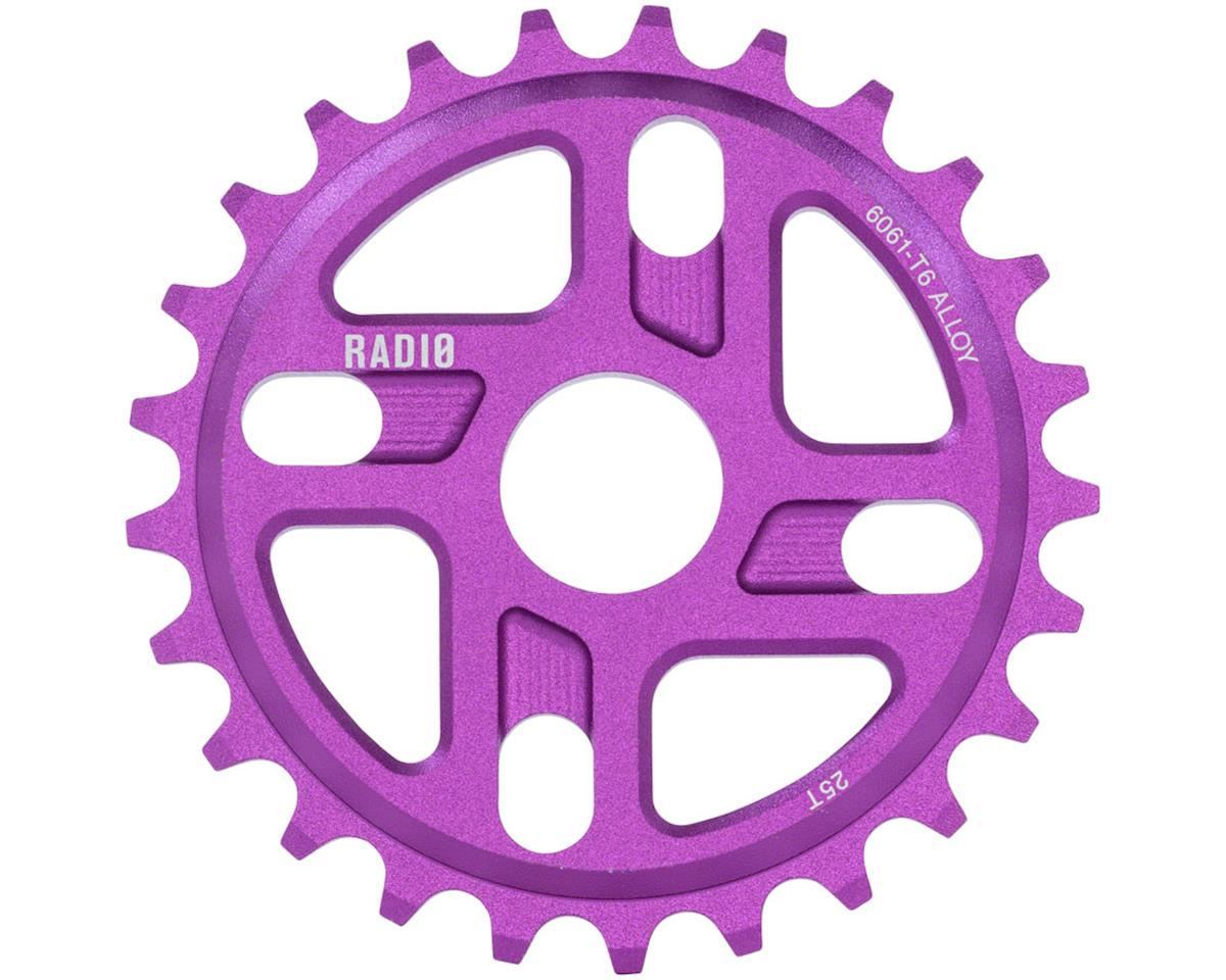 Radio Axis Sprocket 25T 24mm/22mm/19mm Sandblasted Purple