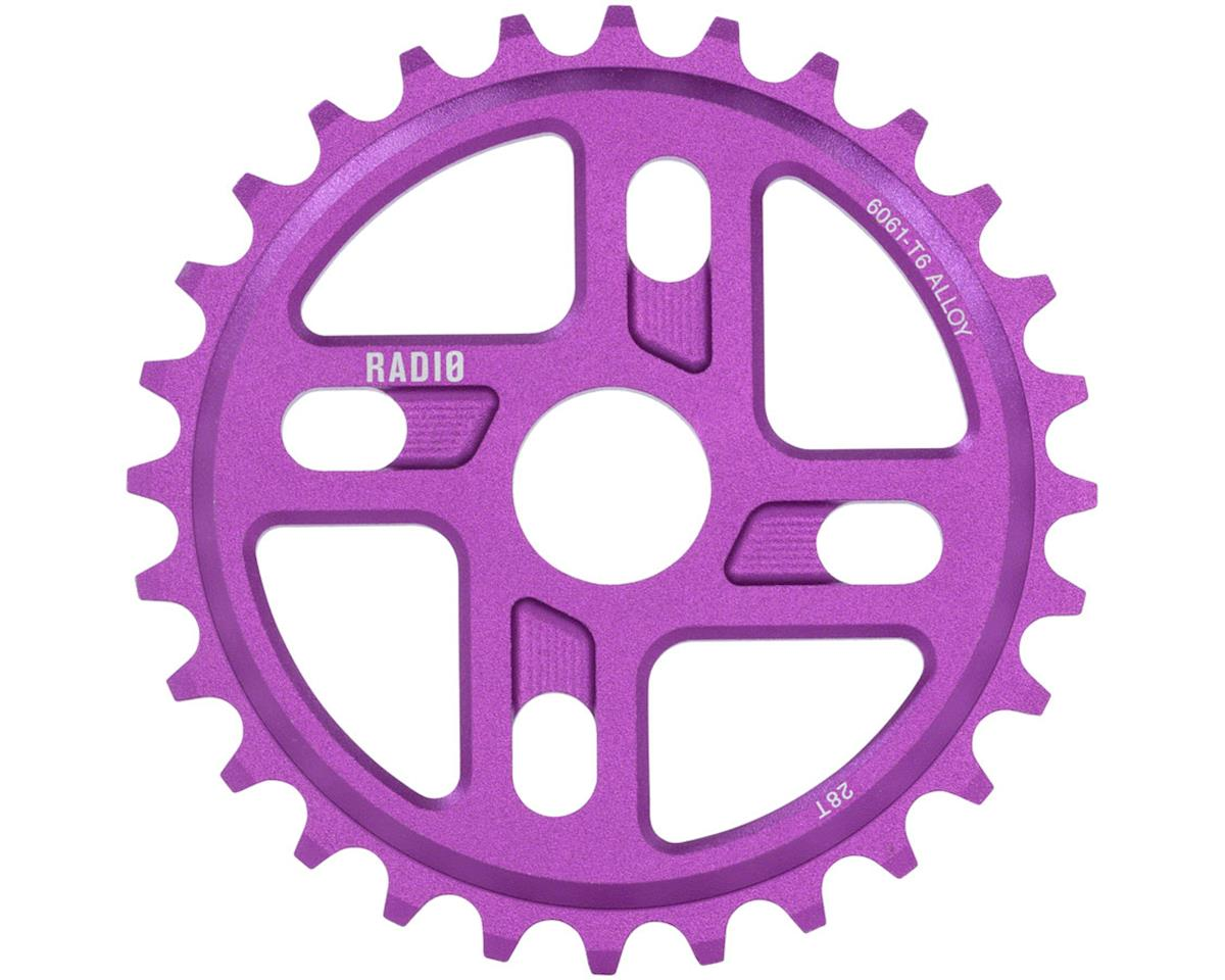 Radio Axis Sprocket 28t 24mm/22mm/19mm Sandblasted Purple