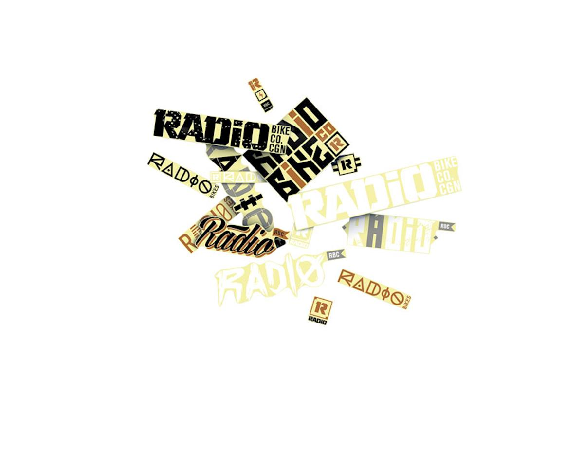 Radio Sticker Pack, 15 Stickers