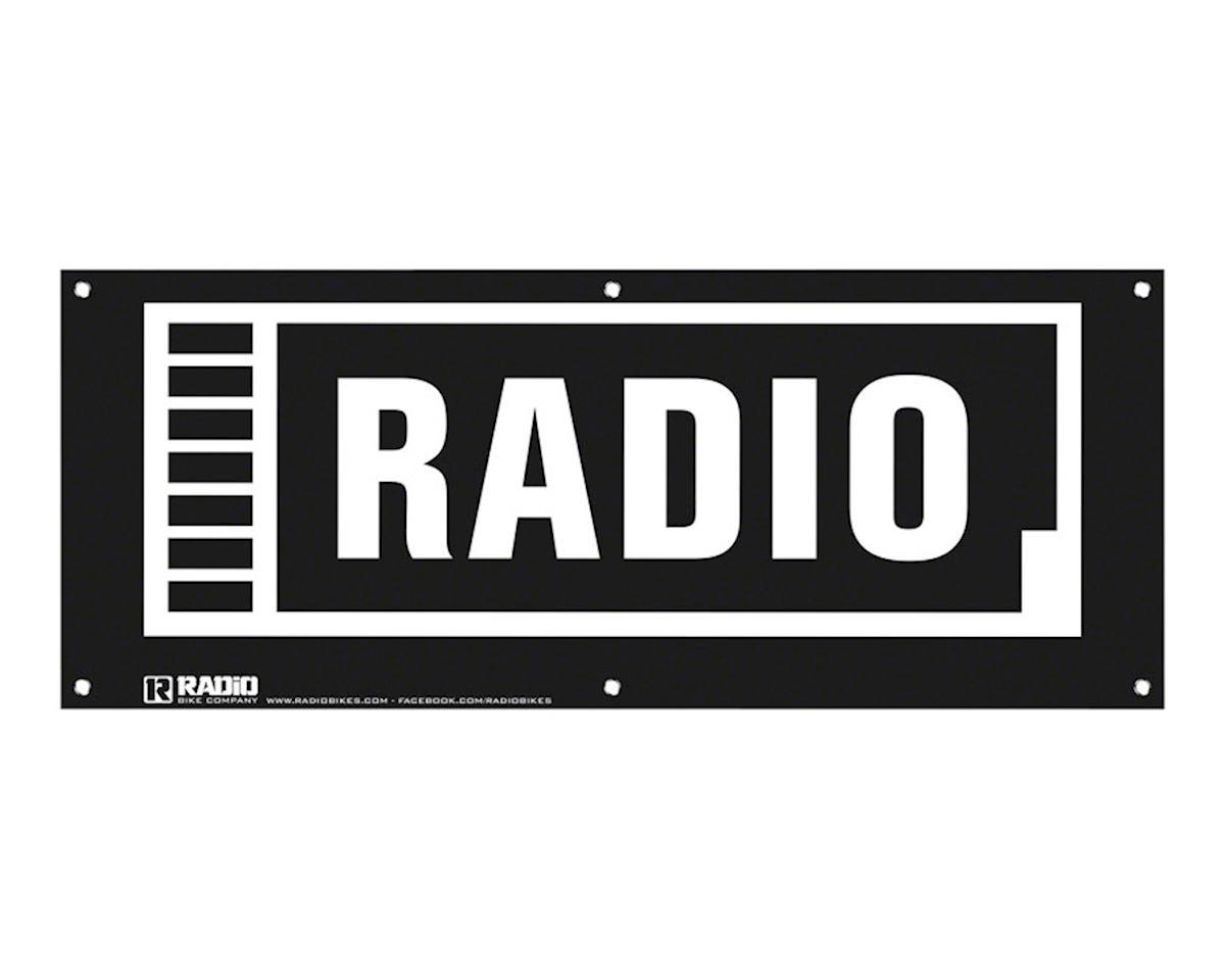 Radio Shop Banner, 100cm x 40cm