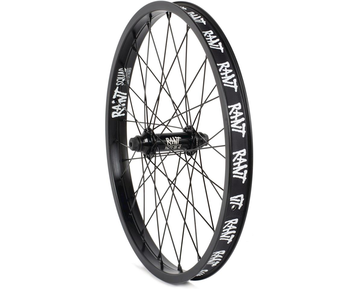 """Rant Party On V2 Front Wheel (Black) (20 x 1.75"""")"""