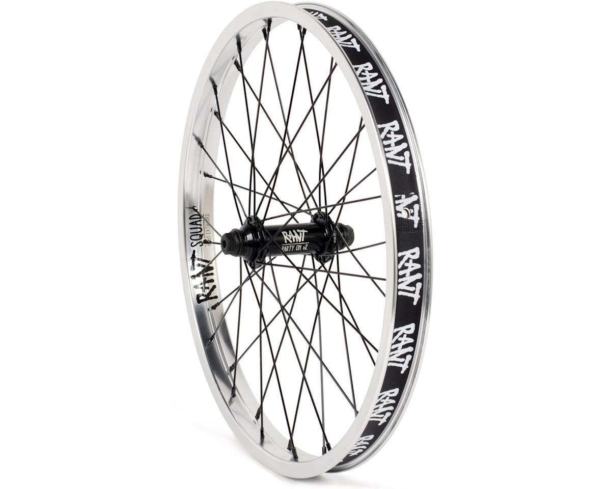 Rant Party On V2 Front Wheel (Silver)