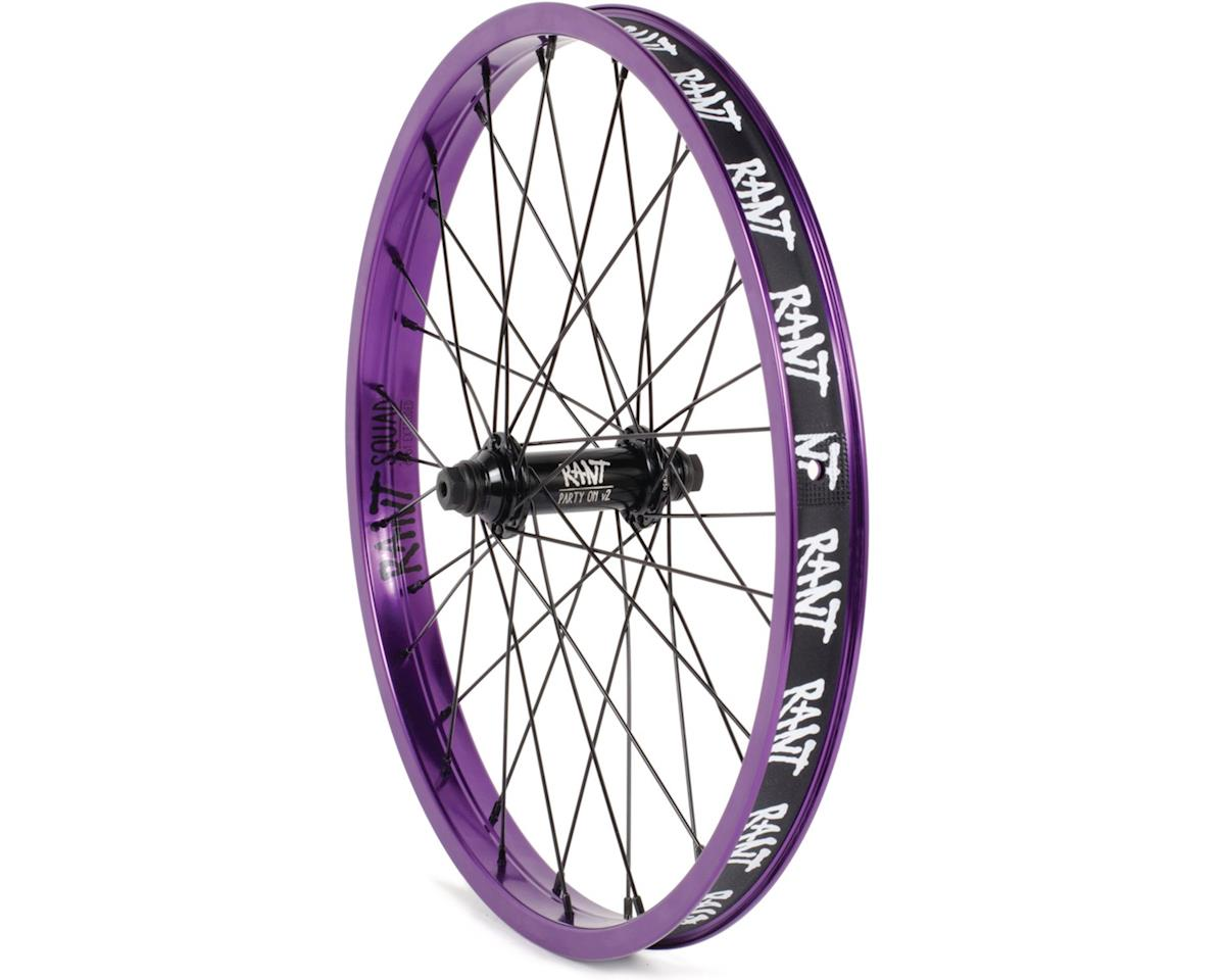 """Rant Party On V2 Front Wheel (90s Purple) (20 x 1.75"""")"""
