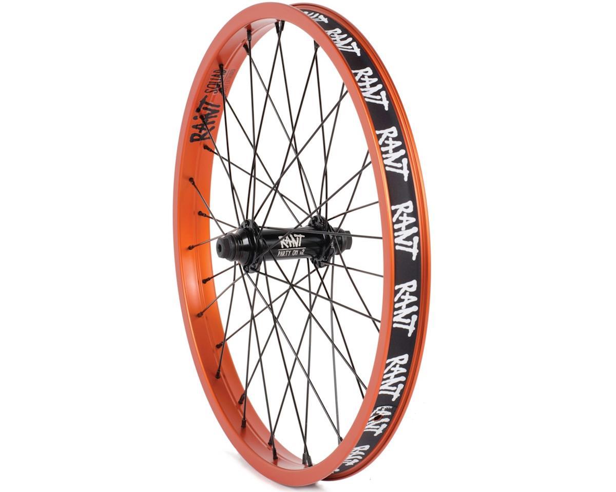 "Rant Party On V2 Front Wheel (Orange) (20 x 1.75"")"