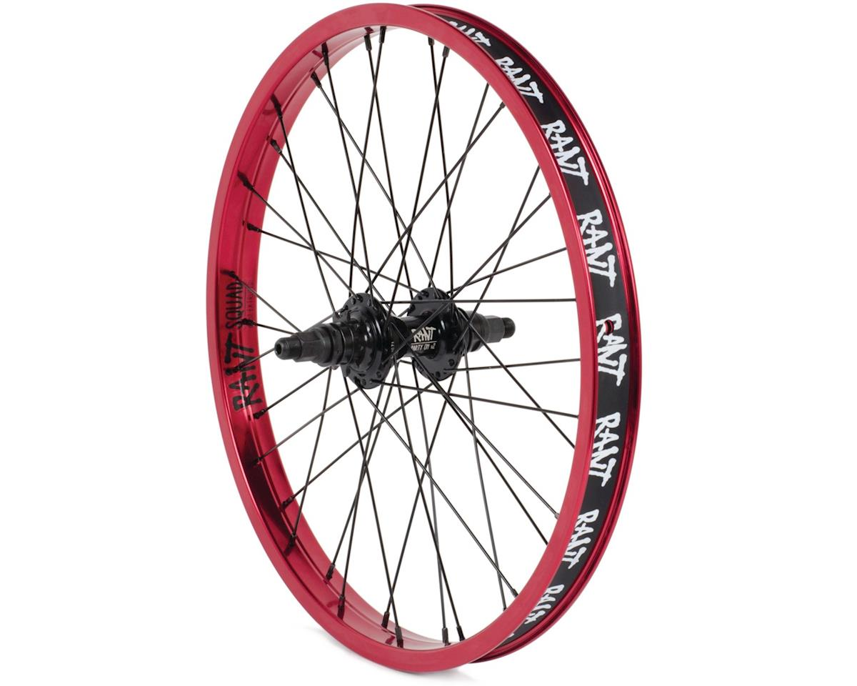 "Rant Party On V2 LHD Cassette Wheel (Red) (20 x 1.75"")"