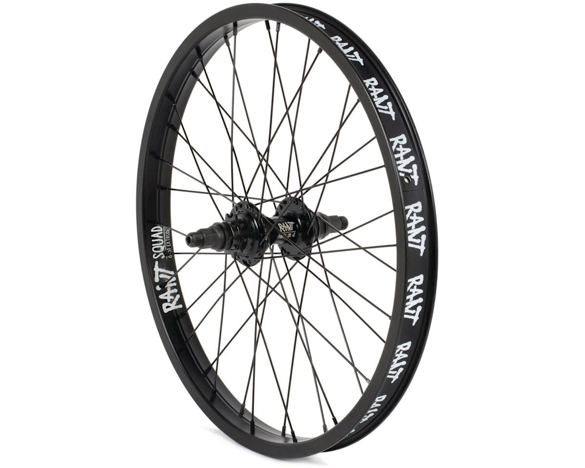 "Rant Party On V2 LHD Cassette Rear Wheel (Black) (20 x 1.75"")"