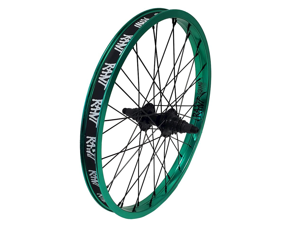 "Rant Party On V2 RHD Cassette Rear Wheel (Real Teal) (20 x 1.75"")"