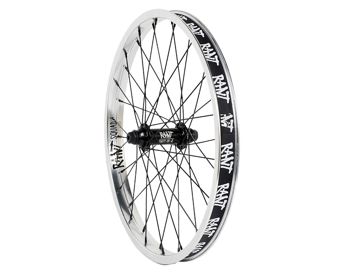"Rant Party On V2 Front Wheel (Silver) (20 x 1.75"")"