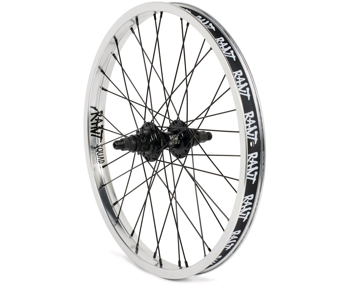 "Rant Party On V2 LHD Cassette Rear Wheel (Silver) (20 x 1.75"")"