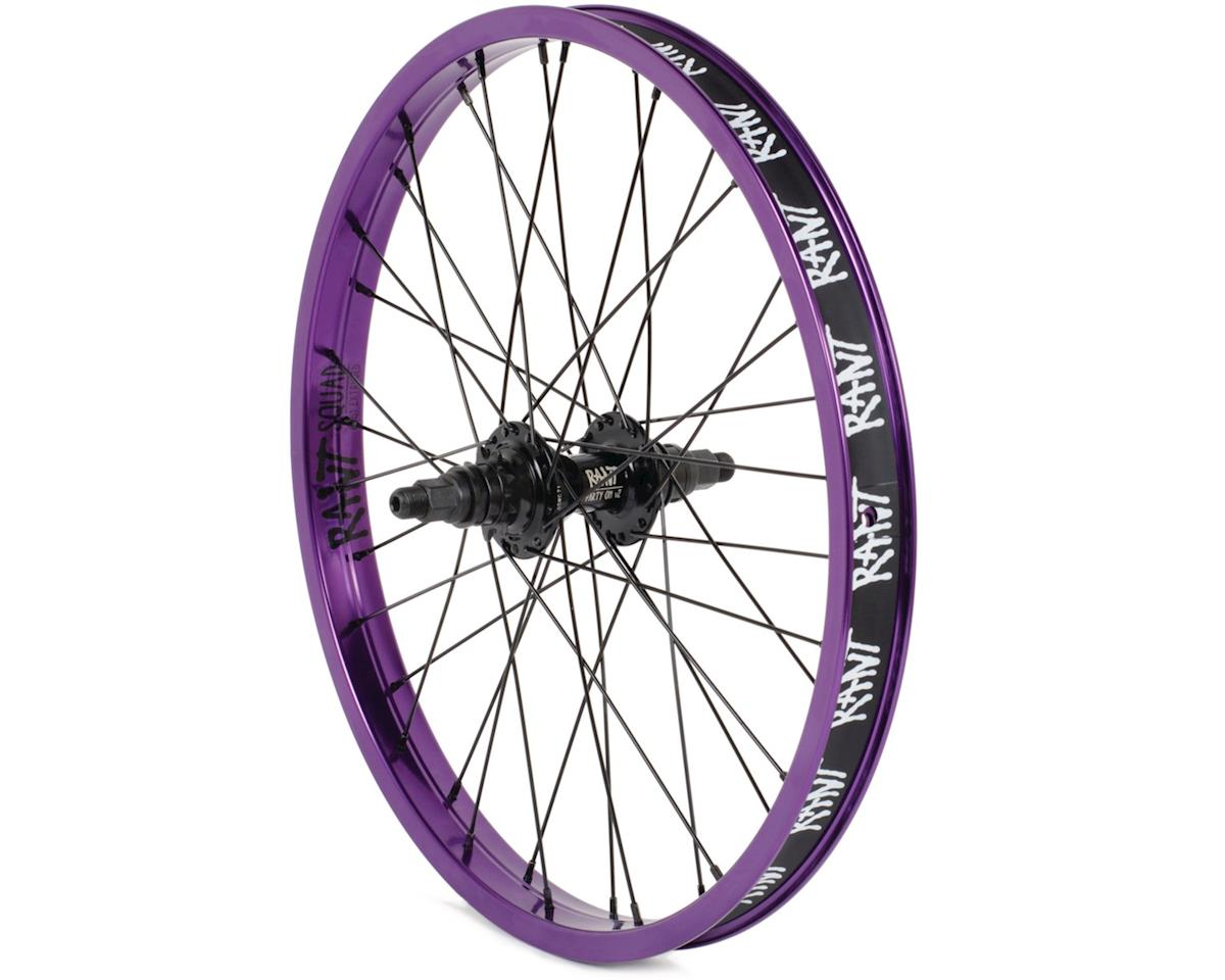 "Rant Party On V2 LHD Cassette Wheel (90s Purple) (20 x 1.75"")"