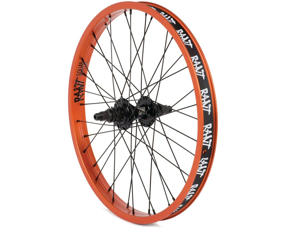 "Rant Party On V2 LHD Cassette Wheel (Orange) (20 x 1.75"")"