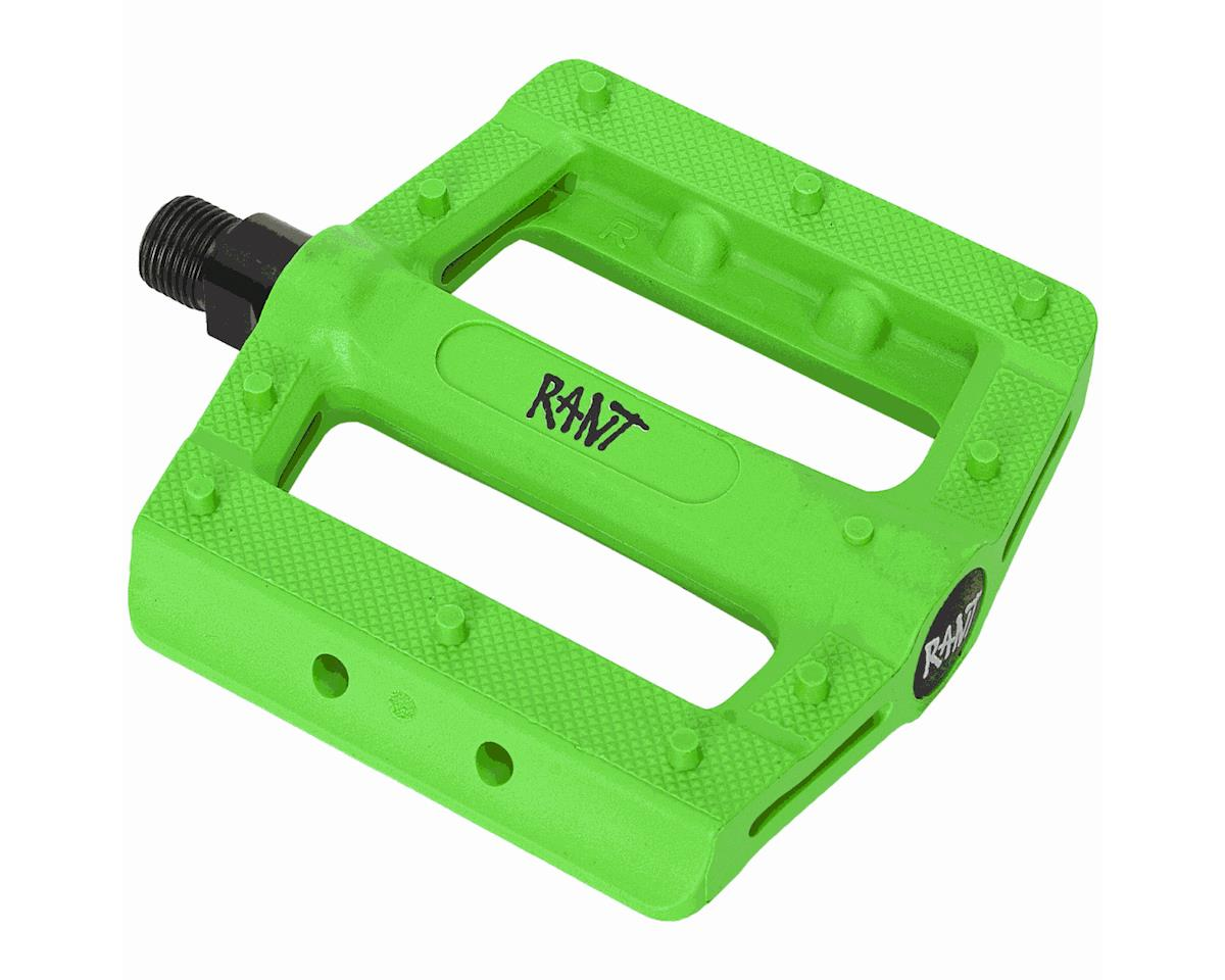 Rant Hella PC Pedals (Neon Green)
