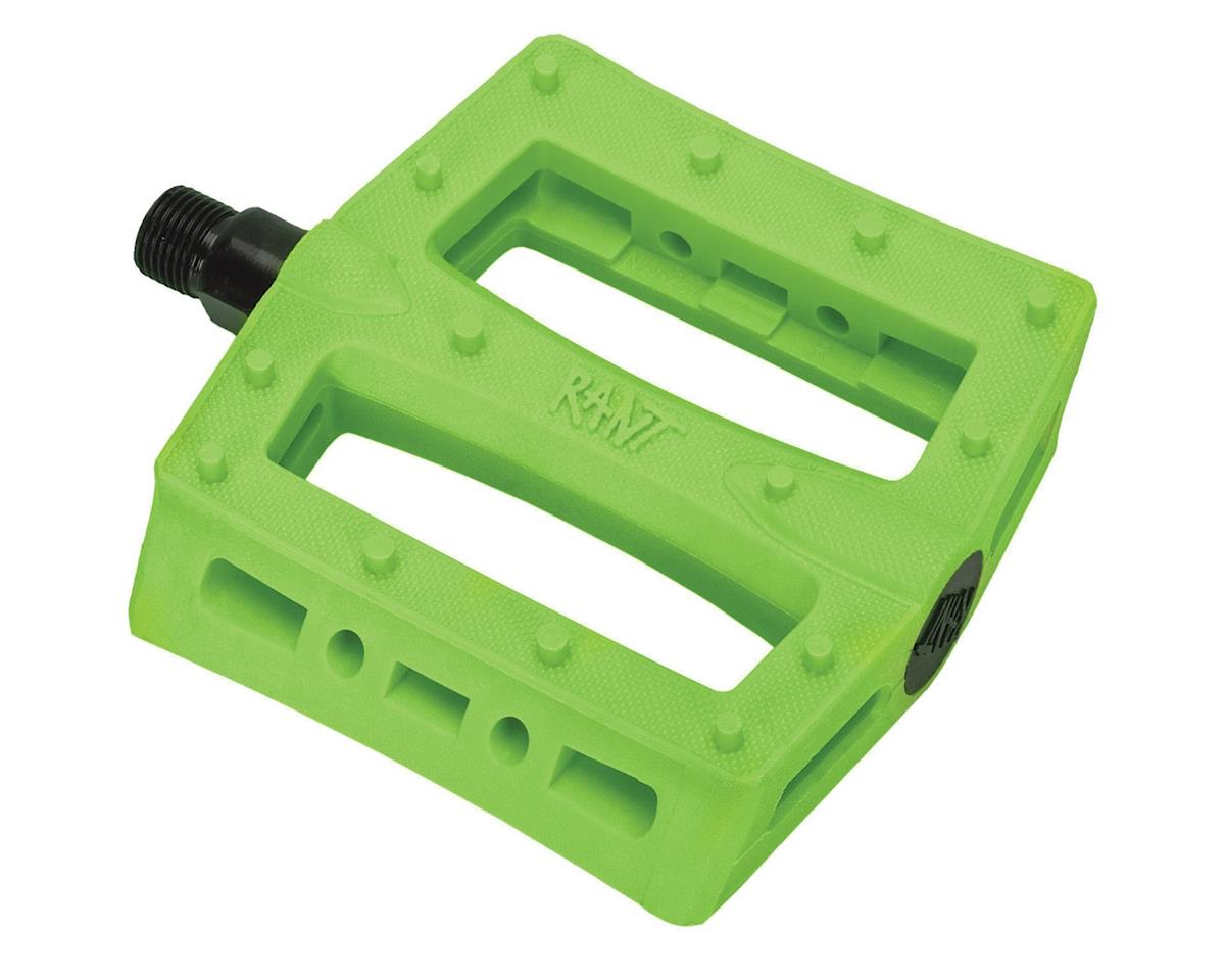 "Rant Shred PC Pedals (Neon Green) (9/16"")"