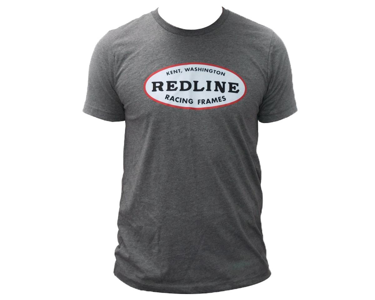 Redline Oval Short Sleeve T-Shirt (Grey)