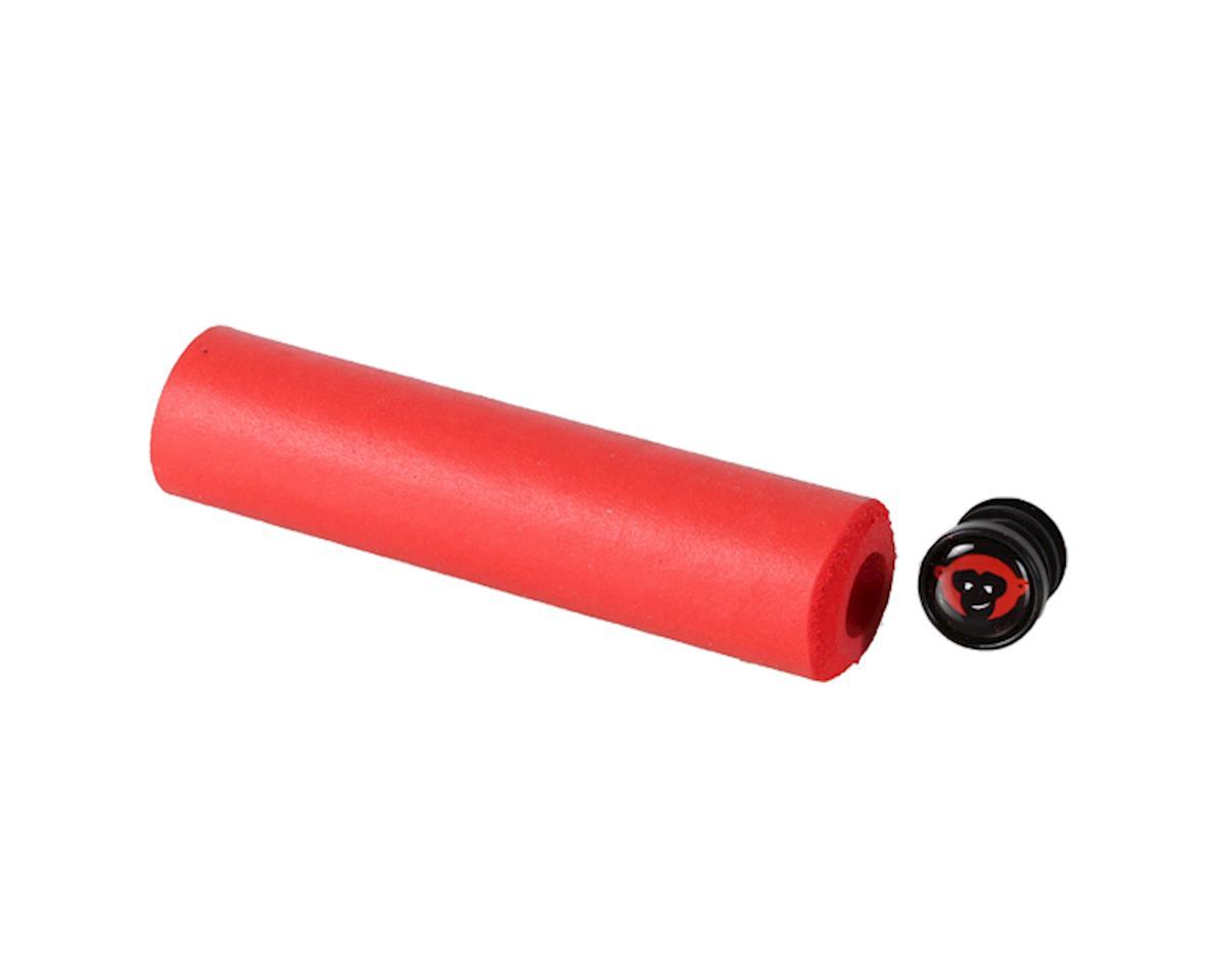 Red Monkey Kärv Silicone Gripset (Red) (36mm Diameter)