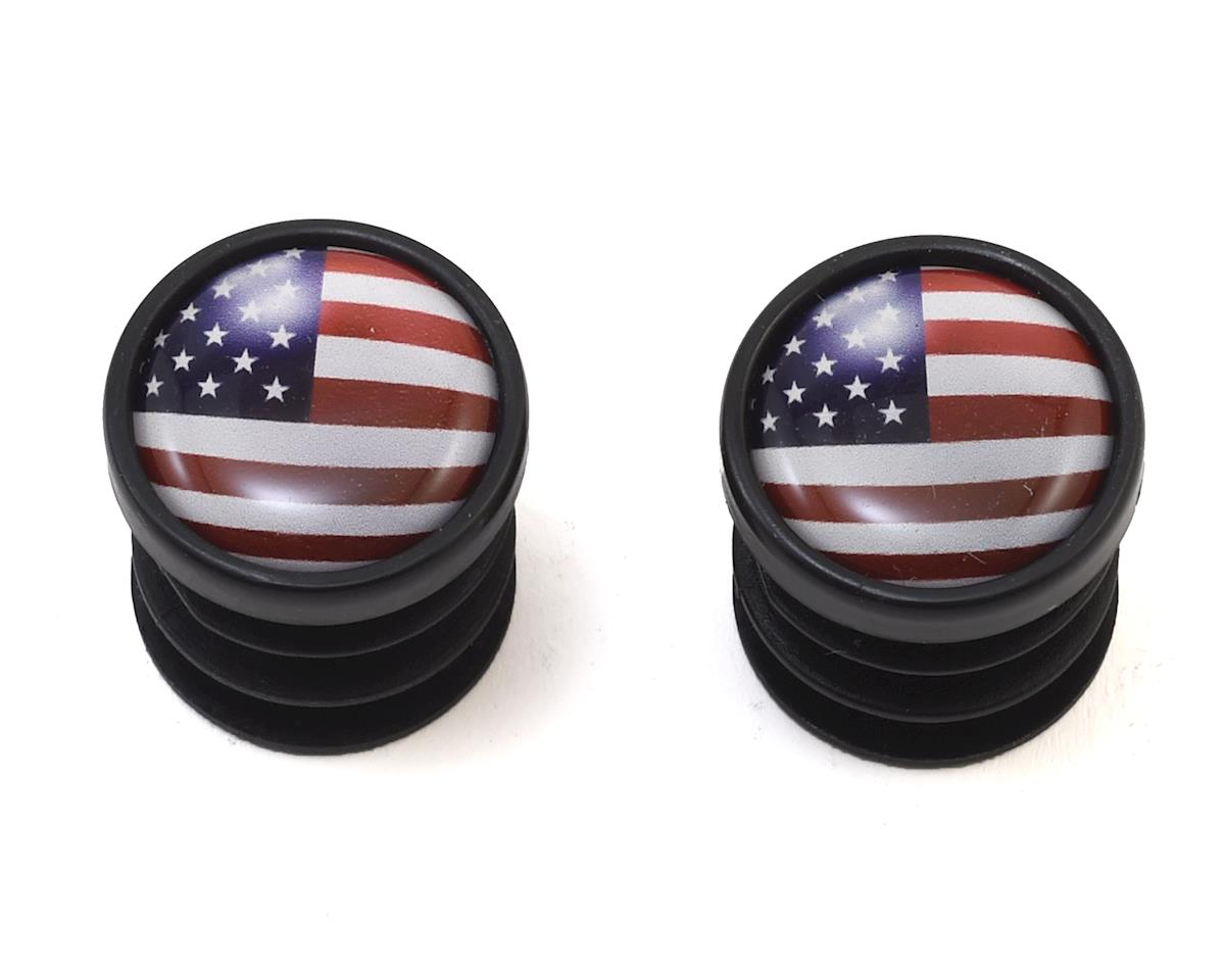 Red Monkey USA End Caps (Pair)