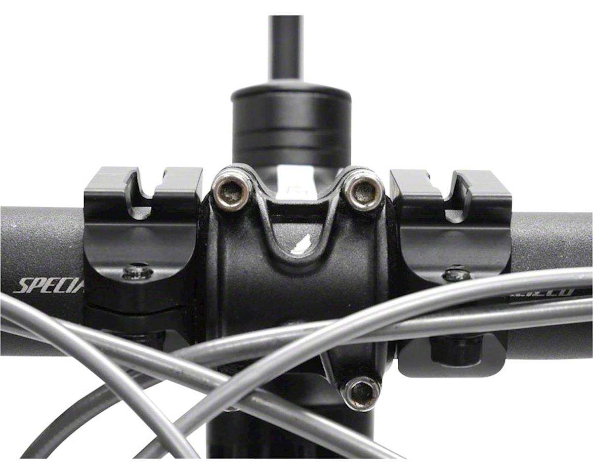 Redshift Sports Redshift Handlebar Clamps (Black) (L/R Pair for Aluminum Aerobars)