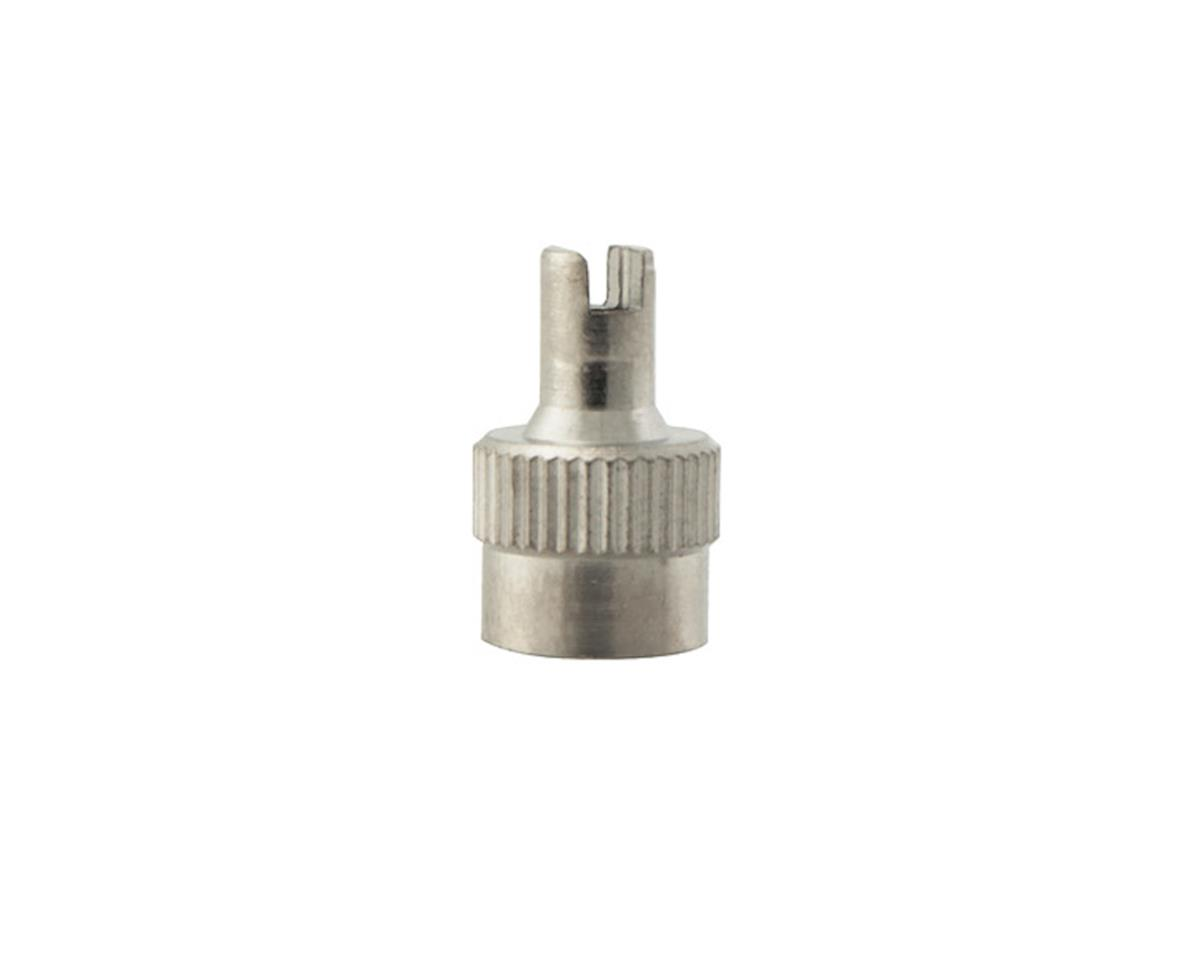 Rema Tip Top Rema 37 Schrader Metal Valve Cap with Core Tool