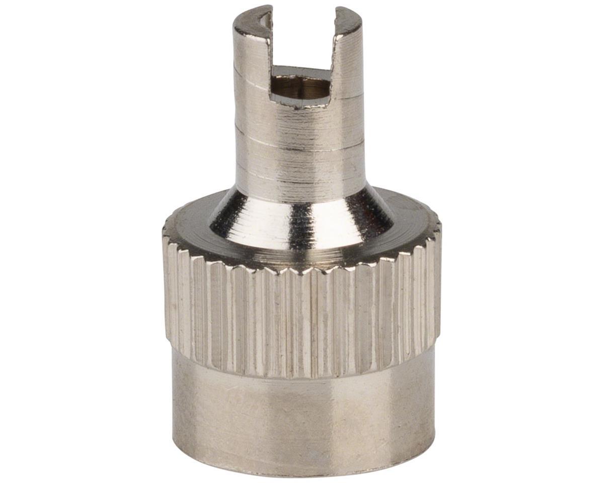 Rema Tip Top Rema 37 Schrader Metal Valve Cap with Core Tool