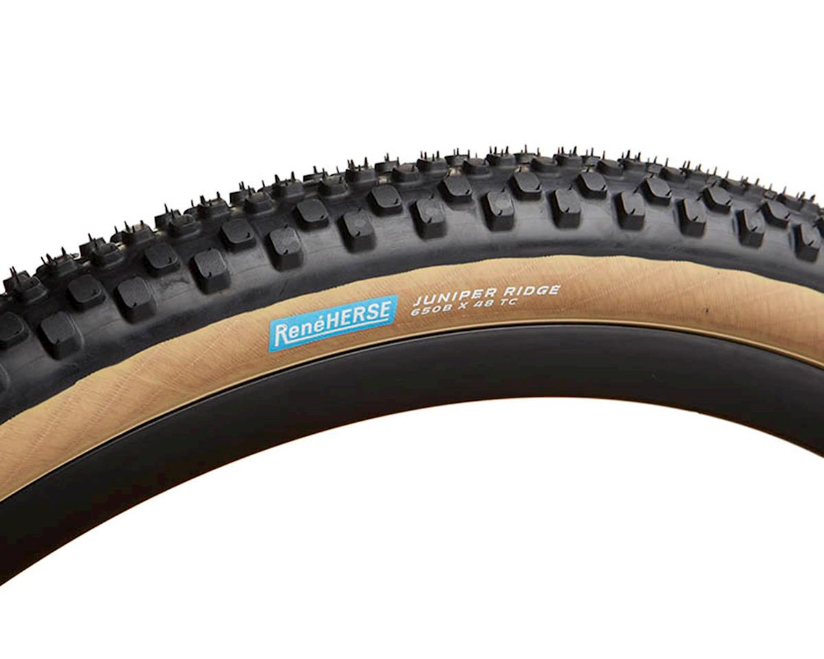 Rene Herse Juniper Ridge Tire (Tan Sidewall) (Extralight Casing) (650B x 48)