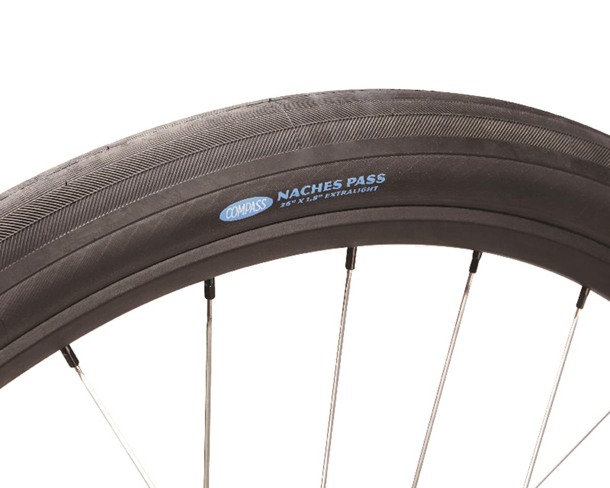 "Rene Herse Naches Pass Tire (Black Sidewall) (Extralight Casing) (26"" x 1.8"")"