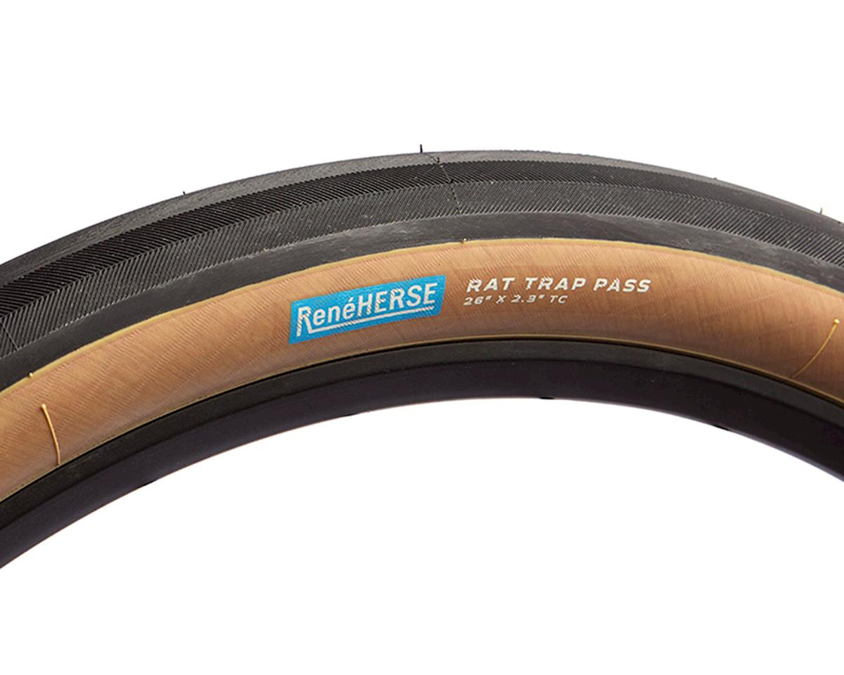 "Rene Herse Rat Trap Pass Tire (Tan Sidewall) (Standard Casing) (26"" x 2.3"")"