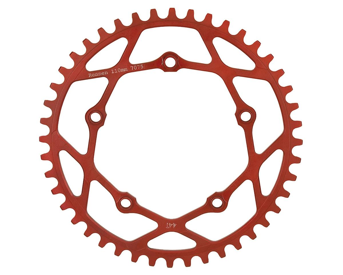RENNEN BMX Pentacle Chainring (Red) (45T)