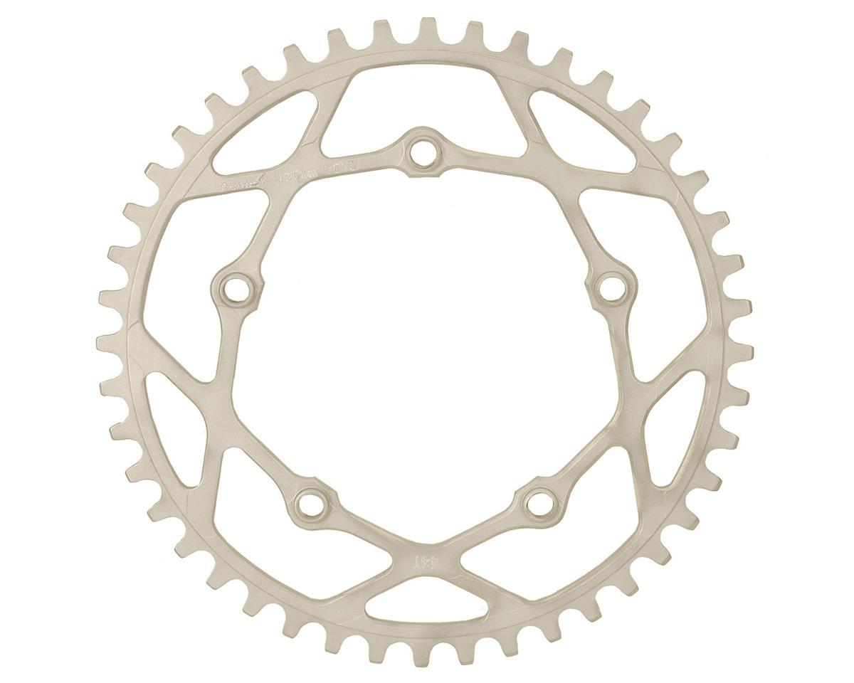 RENNEN BMX Pentacle Chainring (Silver) (34T)