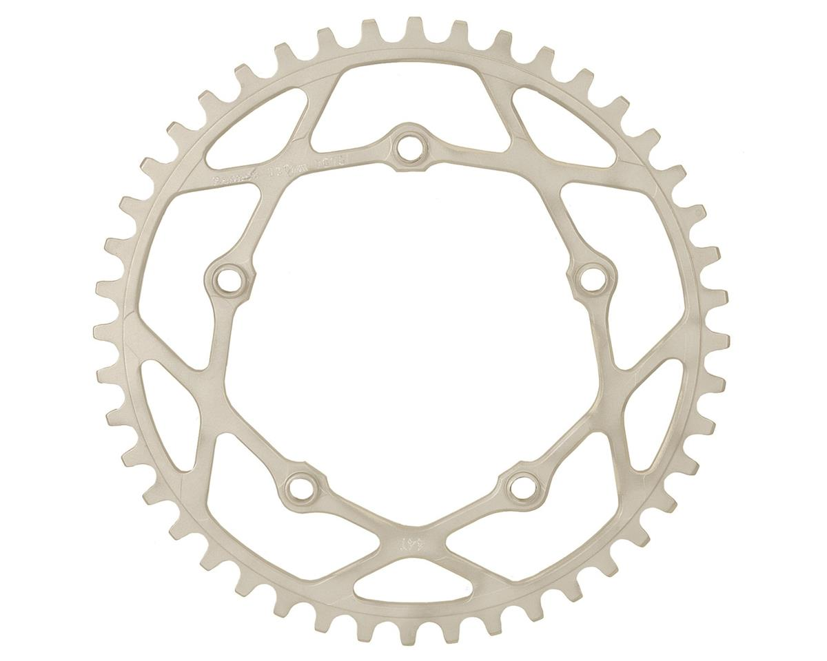 RENNEN BMX Pentacle Chainring (Silver) (35T)