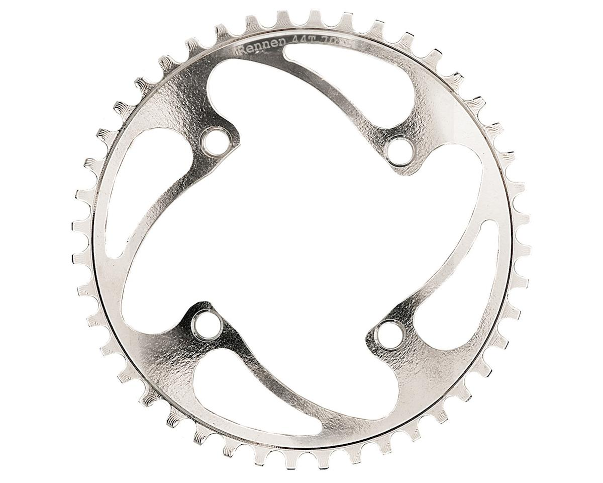 RENNEN BMX 4-Bolt Chainring (Silver) (37T)
