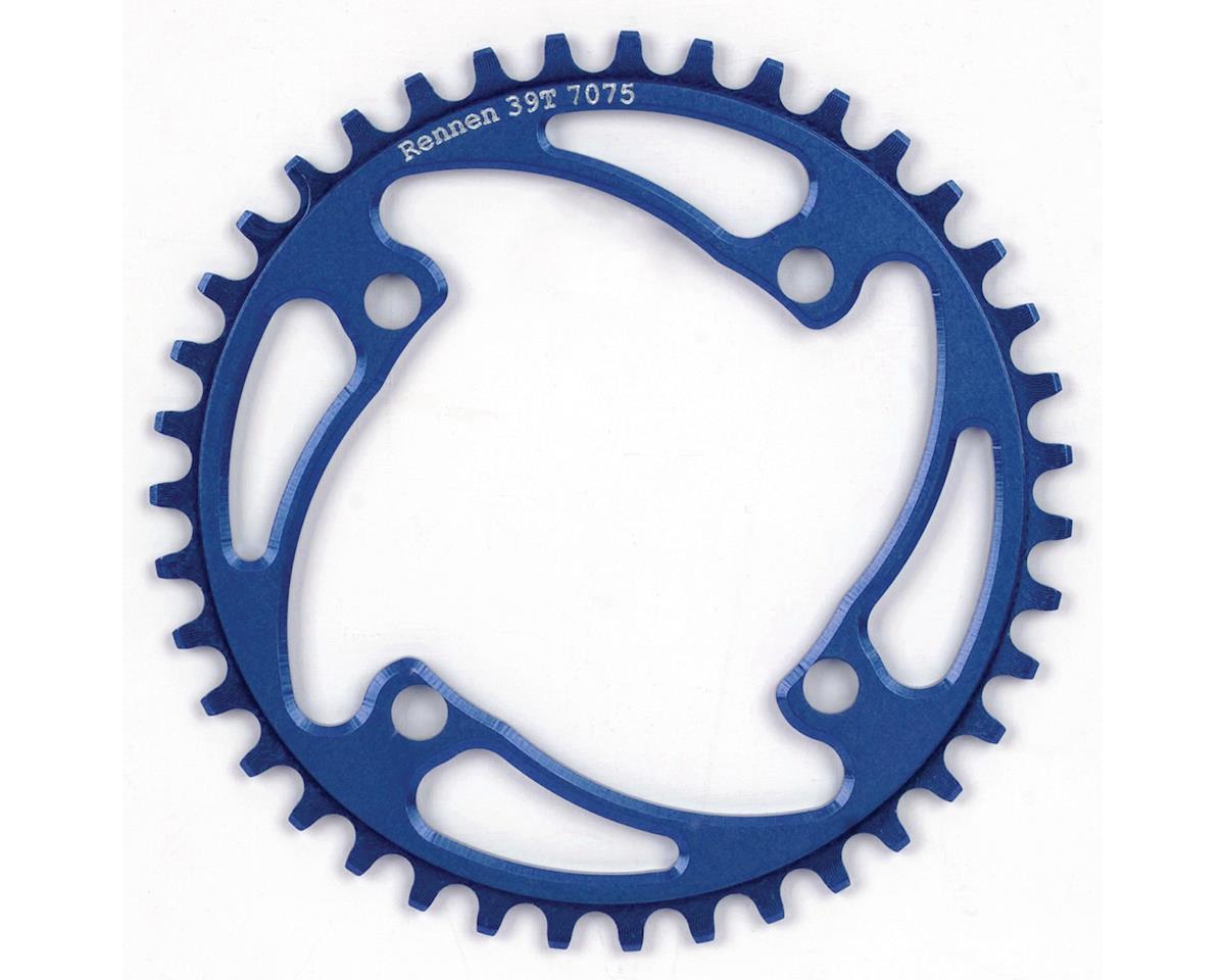 RENNEN BMX 4-Bolt Chainring (Blue) (37T)