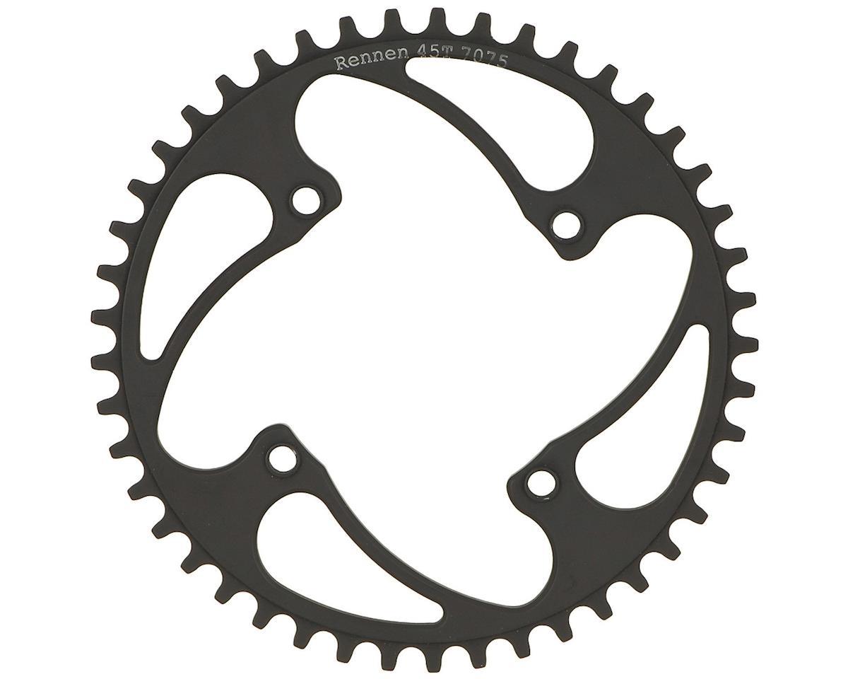 RENNEN BMX Threaded 4-Bolt Chainring (Black) (44T)