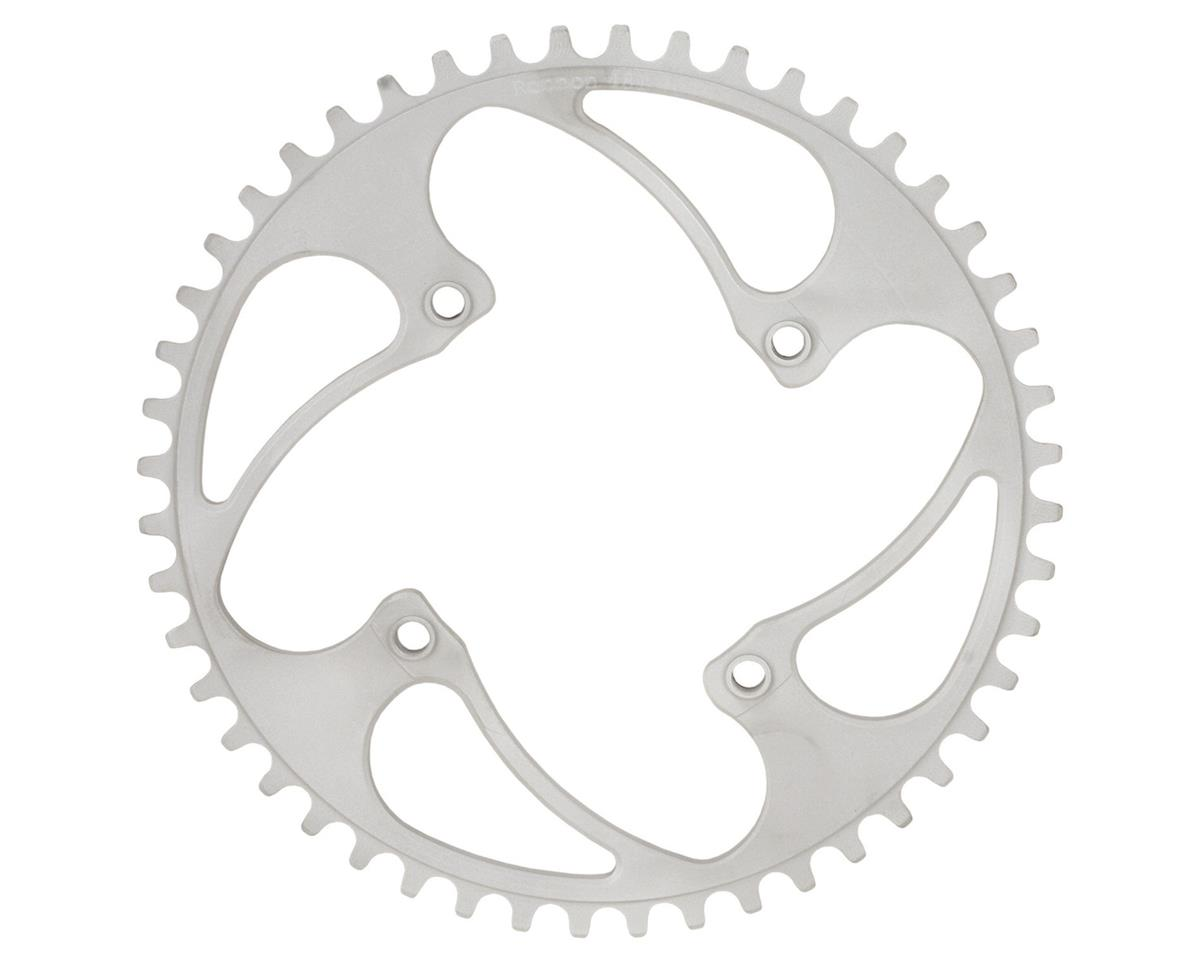 RENNEN BMX Threaded 4-Bolt Chainring (Silver) (33T)