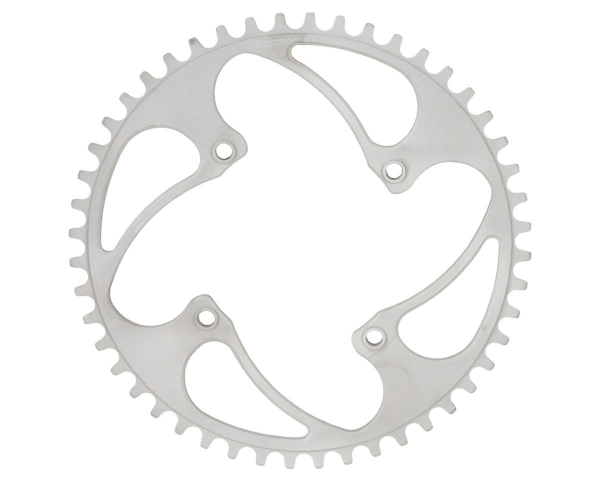 RENNEN BMX Threaded 4-Bolt Chainring (Silver) (36T)