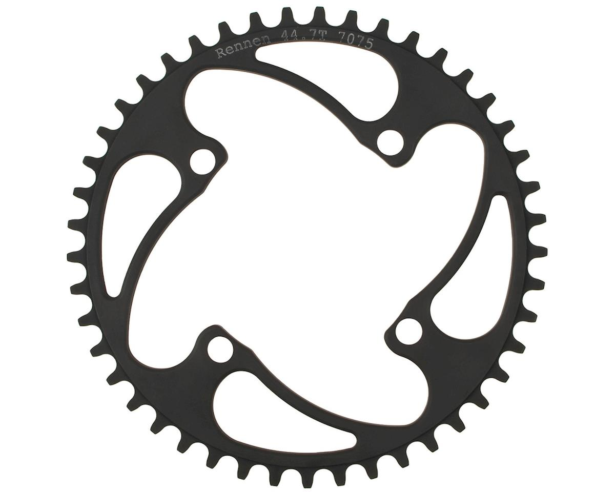 RENNEN 4-Bolt Decimal Chainring (Black) (35.7T)