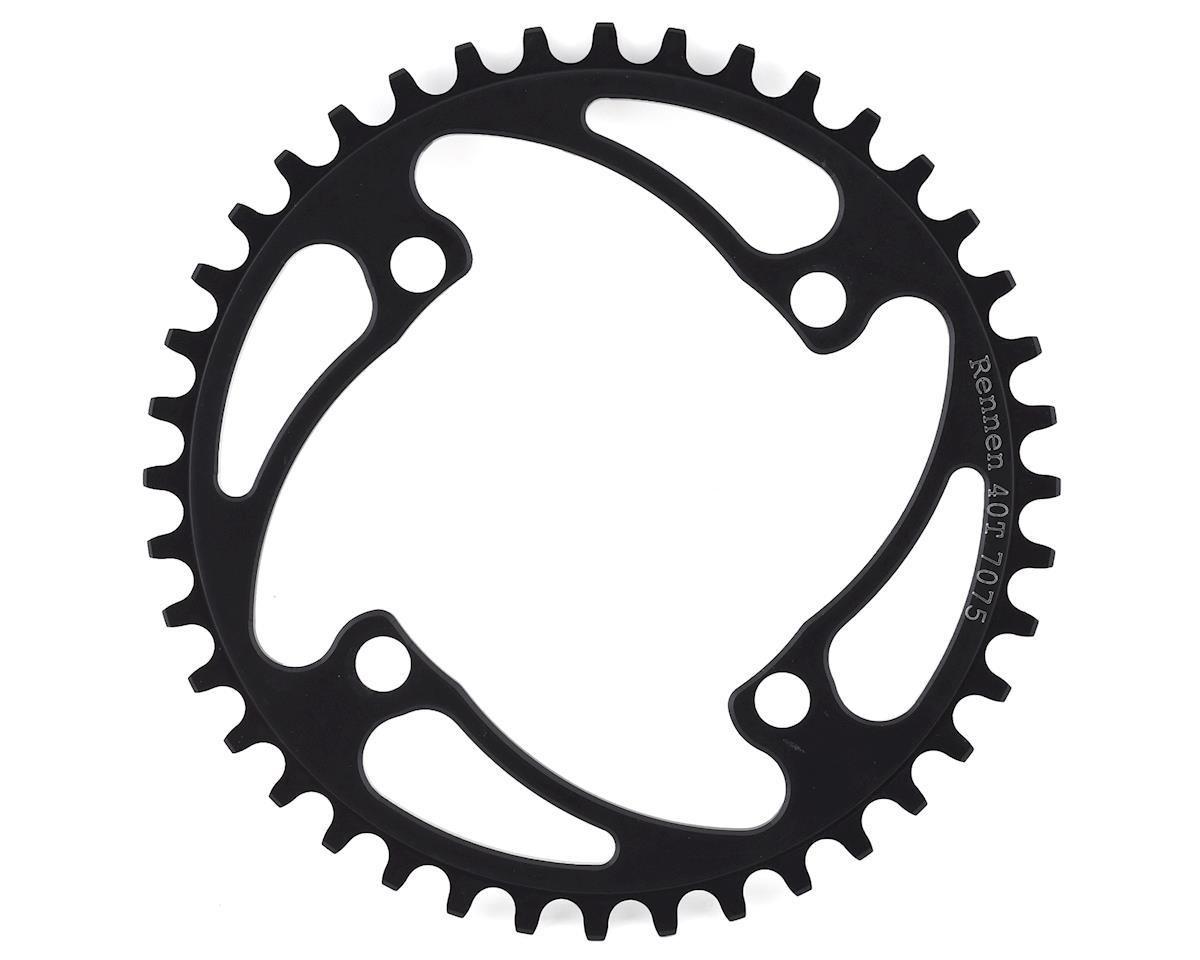 RENNEN 4-Bolt Chainring Non-Threaded (Black) (40T)