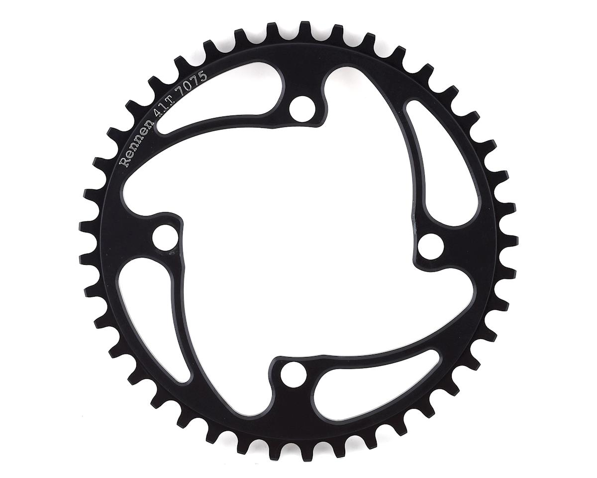 RENNEN 4-Bolt Chainring Non-Threaded (Black) (41T)