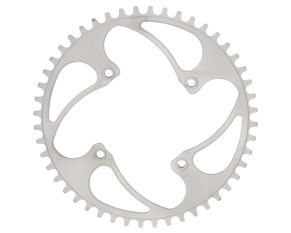 RENNEN BMX Threaded 4-Bolt Chainring (Silver) (36T)