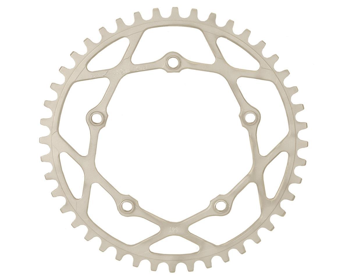 RENNEN BMX Pentacle Chainring (Silver) (33T)