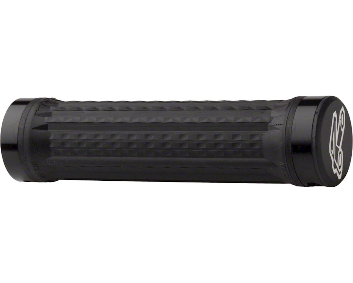 Renthal Traction Ultra Tacky Lock-On Grip (Black)
