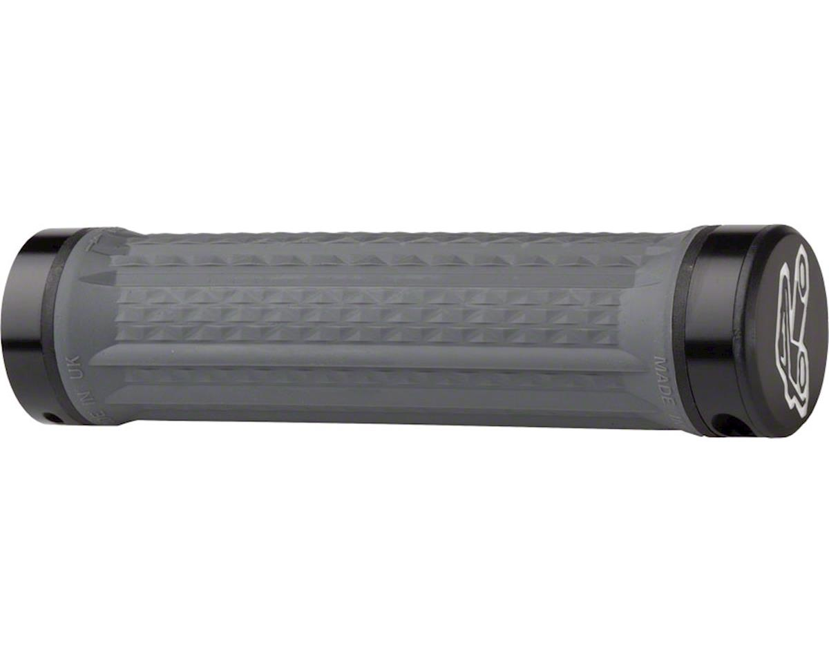 Renthal Traction Medium Lock-On Grip (Gray)