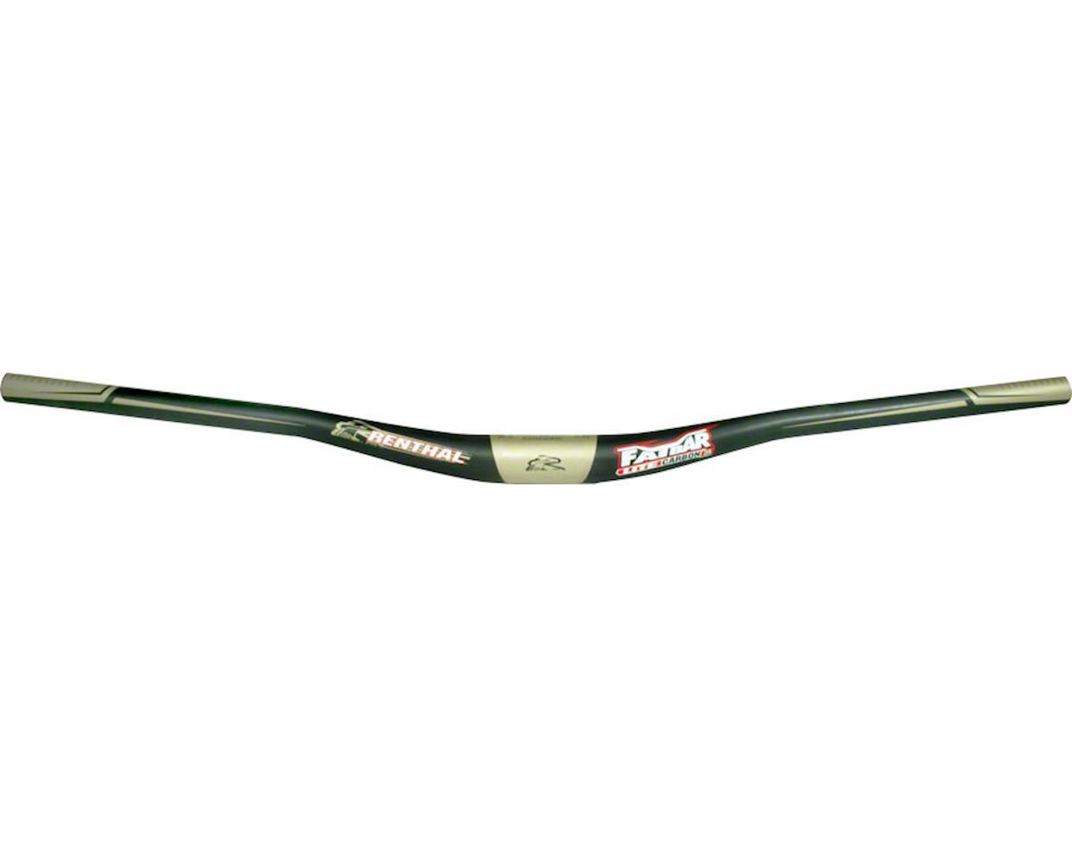 Renthal FatBar Lite Carbon Handlebar (Black) (35mm) (10mm Rise) (760mm)